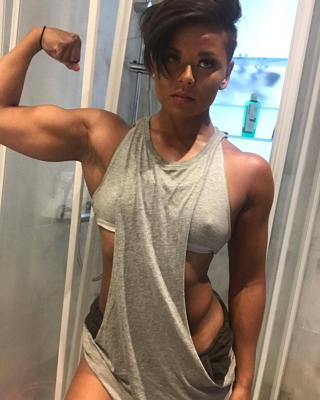 b42efe4e9e2dc Ms Sophie Arvebrink Model  sophie.arvebrink Profession Fitness model   Personal Trainer Nationality Sweden .  femalemuscleworld…