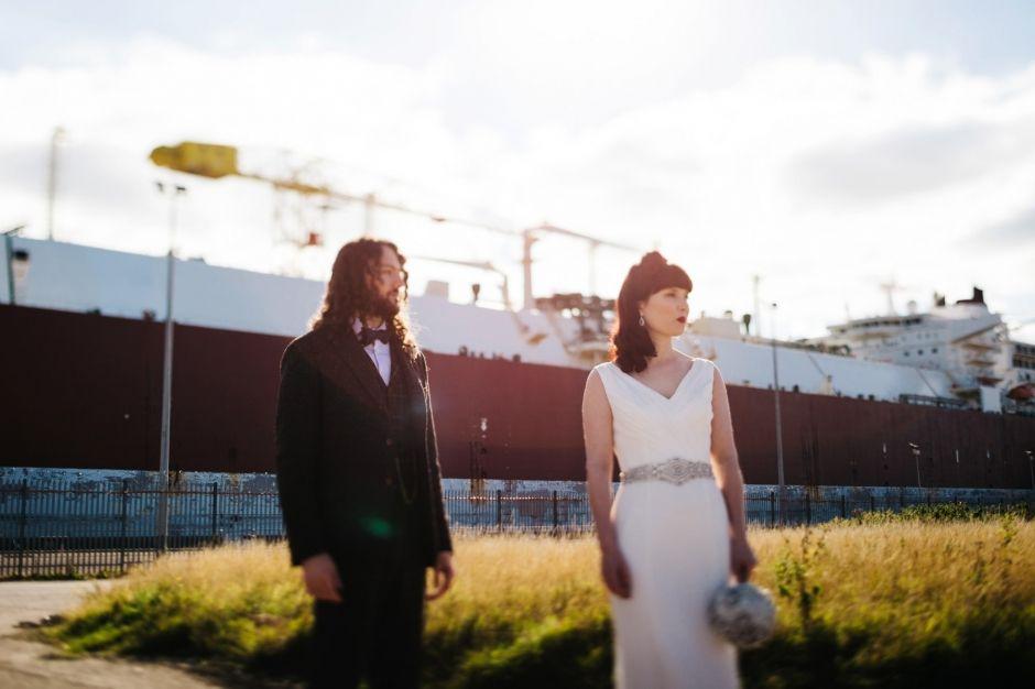 Chris And Rachels Wedding At Titanic Belfast, Northern Ireland