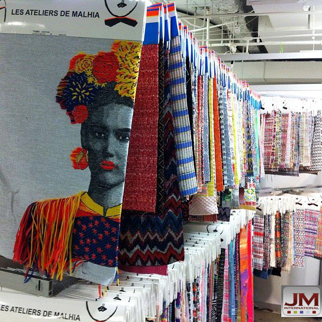 Spring/Summer 15 line. Contact us if you'd like to see or know more.www.jminternational.com #fashion #textile #design #womensfashion #fabric #jminternationalgroup #latextileshow #LATEXTILE  #SS15 #cmc