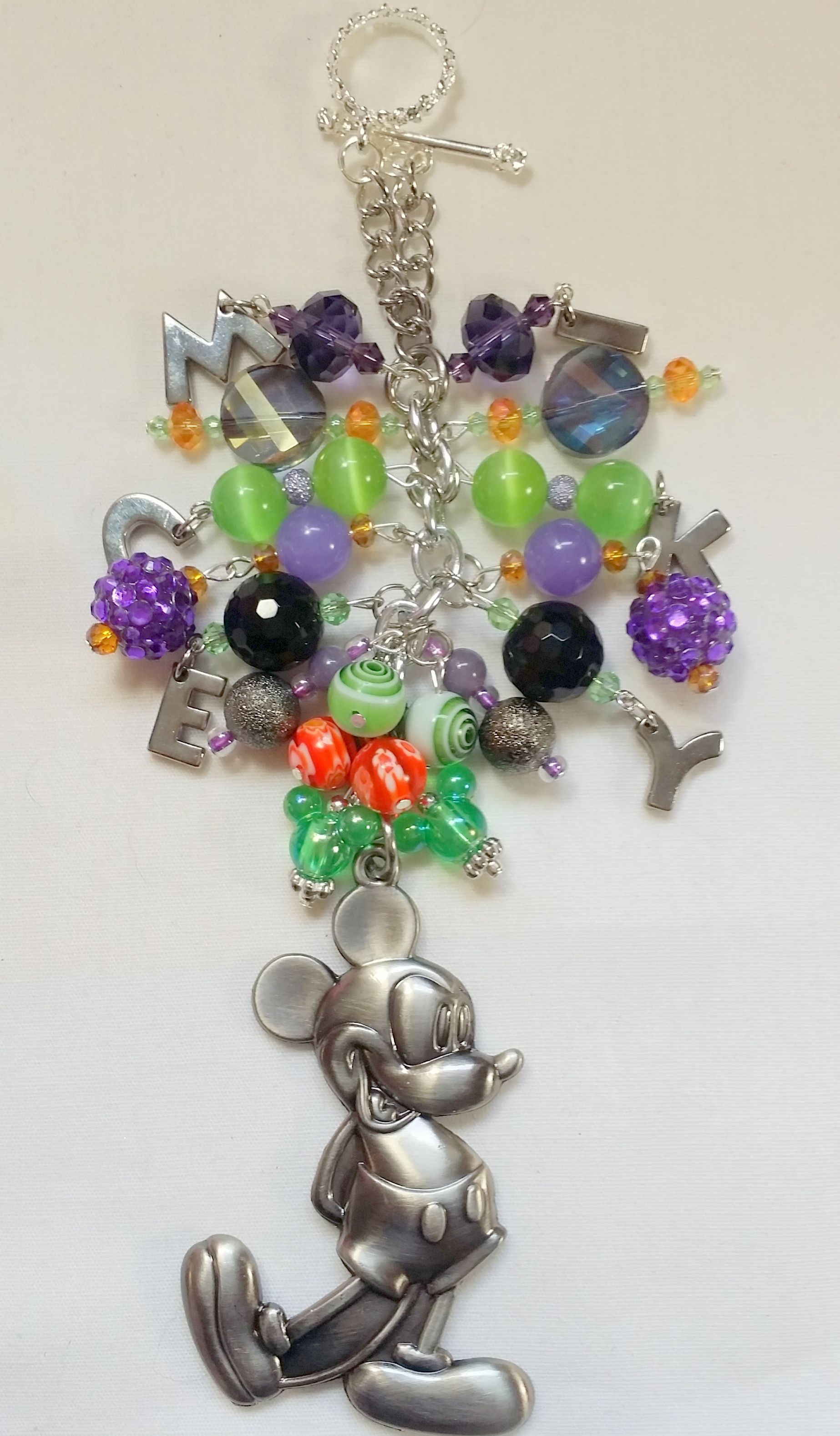 Mickey Purse Charm   ~ available at https://www.etsy.com/shop/magic365