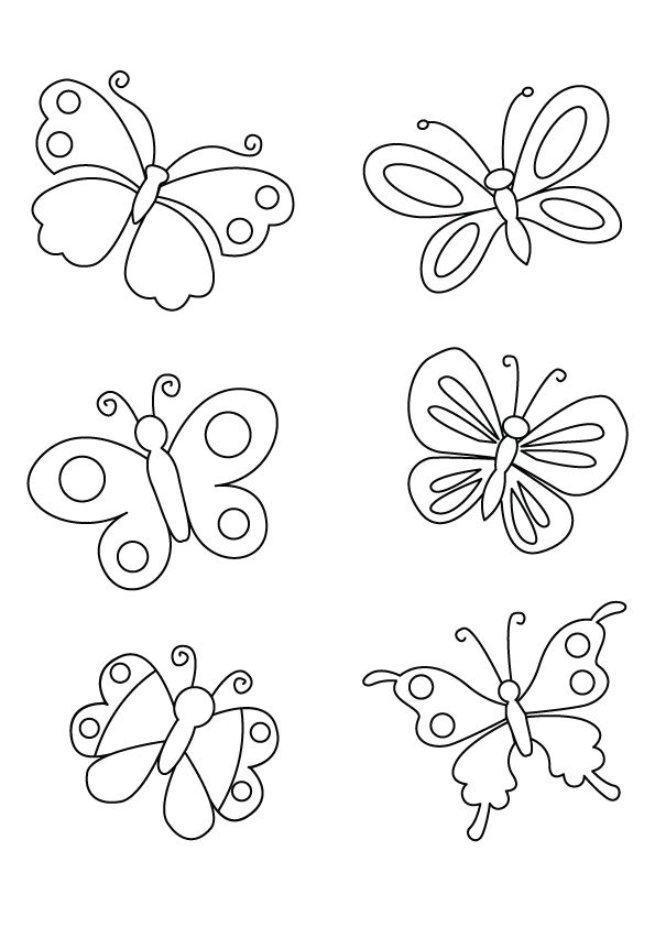 86 Top Momjunction Butterfly Coloring Pages  Images
