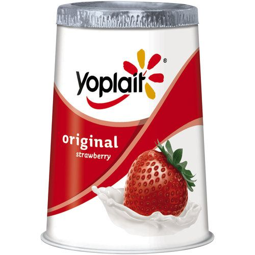 Walmart Yoplait Original Strawberry Yogurt 6 Oz Yoplait Yogurt Yoplait Yoplait Whips