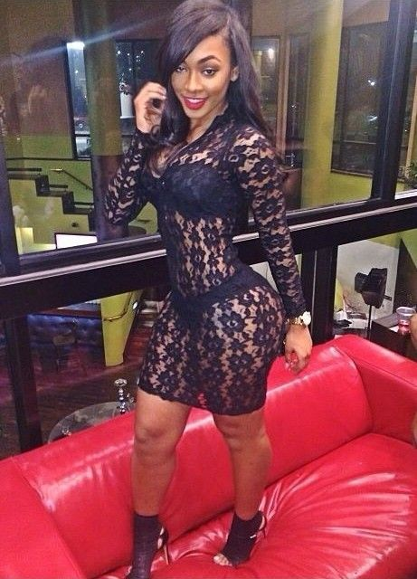 76e0e507 Fashion Brand Sexy Dress Club Wear Floral Lace Sheer Dress See Through  Nightclub Party Dresses Women Bandage Dress Plus Size -in Apparel &  Accessories on ...