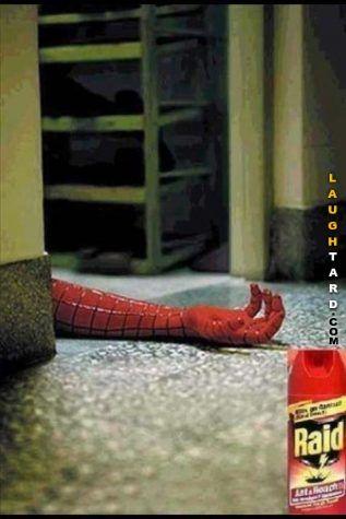 Raid  #lol #laughtard #lmao #funnypics #funnypictures #humor  #raid #spiderman