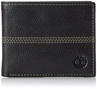 AG Wallets Genuine Leather Coin//Change Purse with Key Ring Black