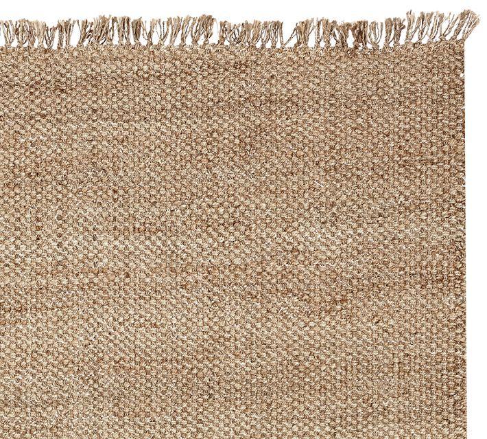 ethan jute rug with fringe