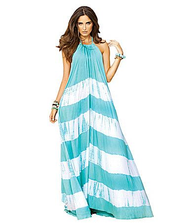 Elan TieDye Halter Maxi Dress #Dillards-AVAILABLE AT GLIKS FOR A ...