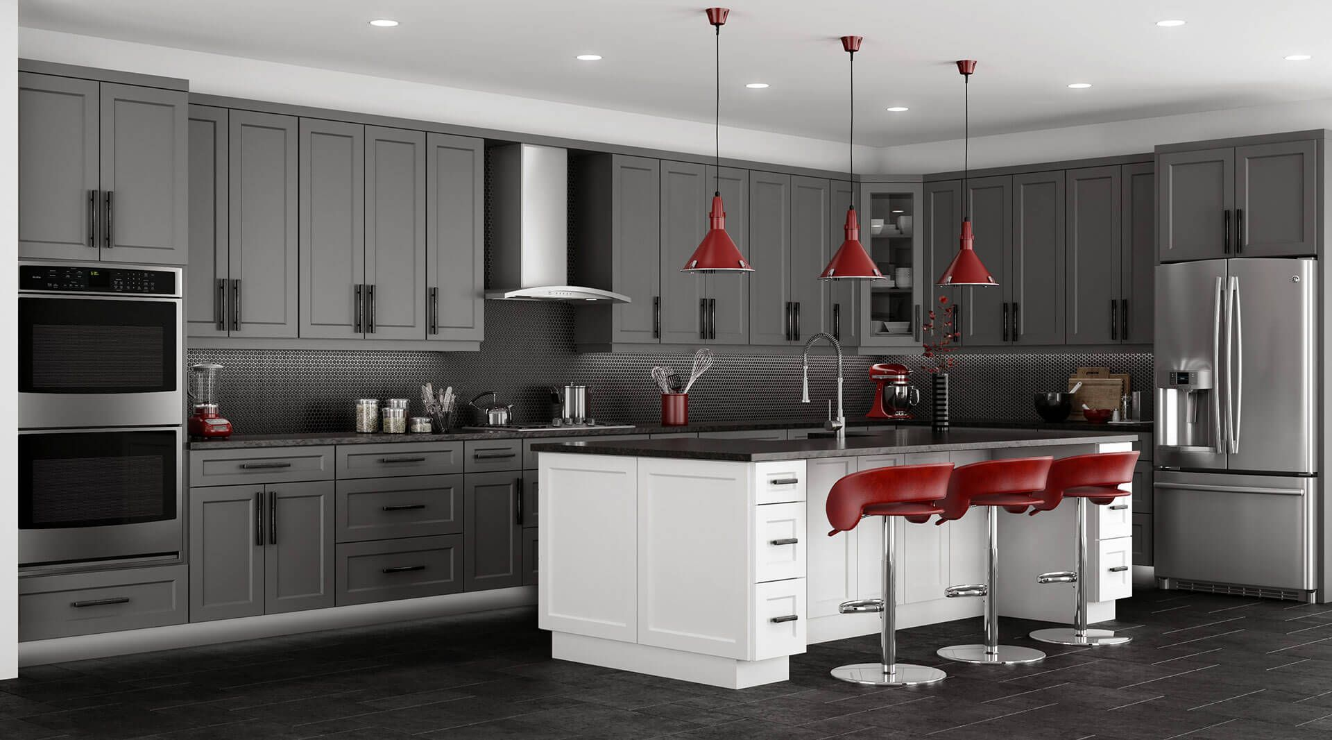Shaker white cabinets lifedesign home kitchen cabinet ideas