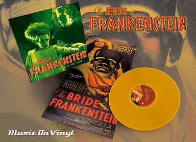"""The #bride of frankenstein - #soundtrack (limited #orange) (new 12"""" vinyl lp),  View more on the LINK: http://www.zeppy.io/product/gb/2/390882702001/"""