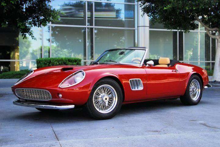 Ferrari 250 GT California Spyder   Ferrari california ...
