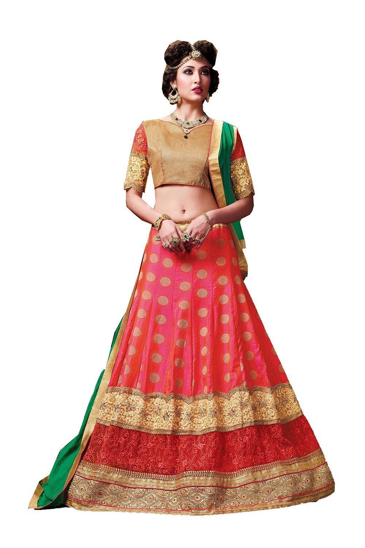 Sakalas best indian women designer wedding red lehenga choli fabz