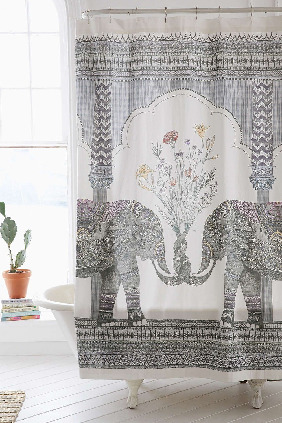 Shower Curtain Liner Bath Elephant Shower Curtains