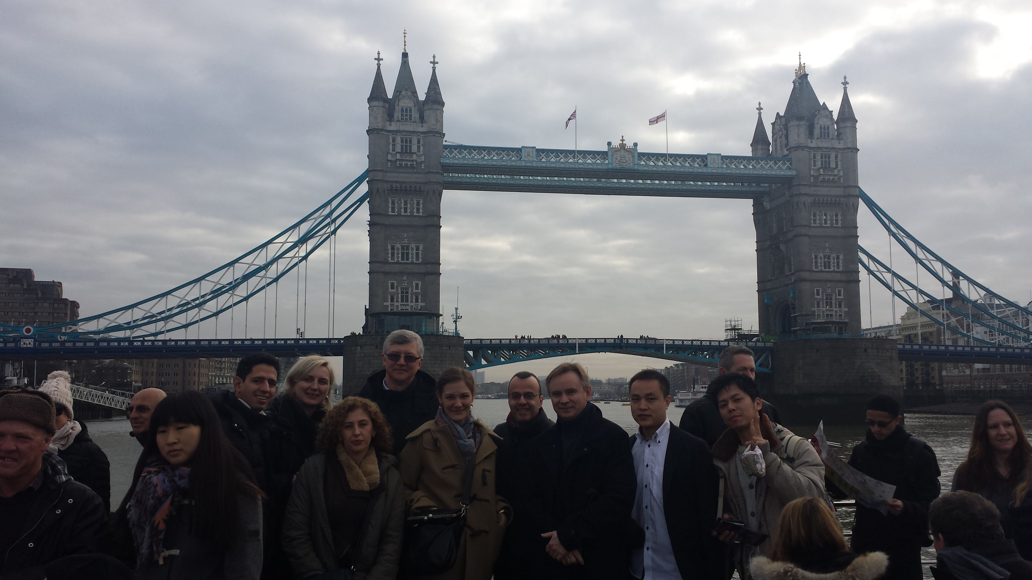 Thames cruise to Greenwich with Kathrin. 28th January 2014