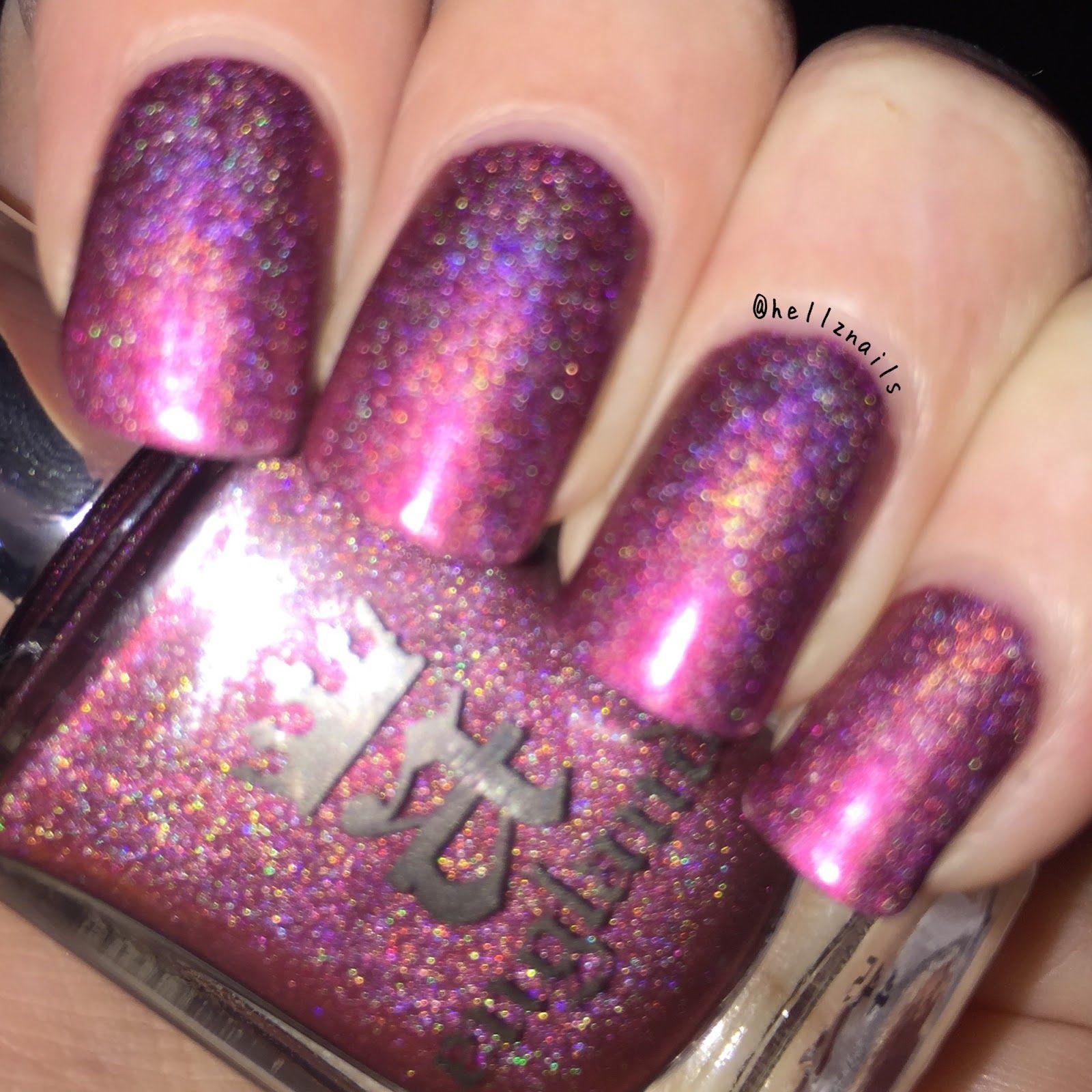 Sleeping Beauty Nails: A-England Briar Rose / Sleeping Beauty Nail Polish Swatch