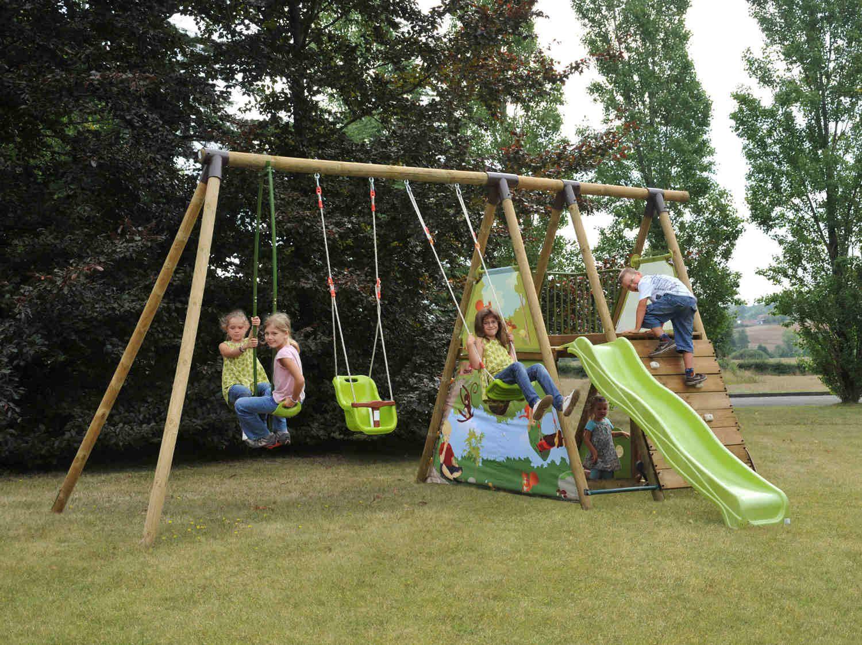 Laissez Vos Enfants Jouer Dehors Jeux Plein Air Enfant Jeux Exterieur