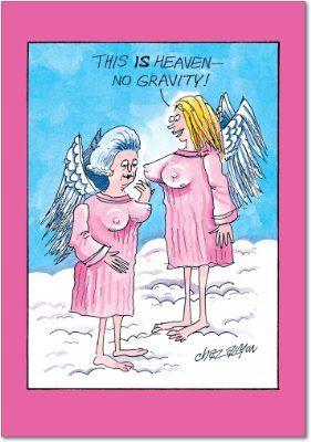 No Gravity Birthday Joke Paper CardAmazonOffice Products