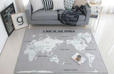 Blackworld map carpet floor rug vintage style globe mat carpet blackworld map carpet floor rug vintage style globe mat gumiabroncs Images