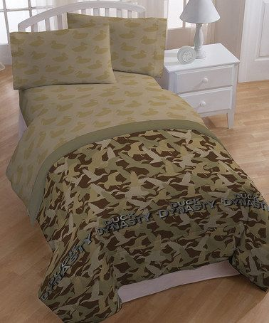 Look What I Found On Zulily Duck Dynasty Comforter Set