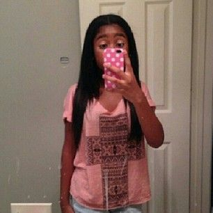 Young Lyric hair look like weave but is not that is her really hair or'nah