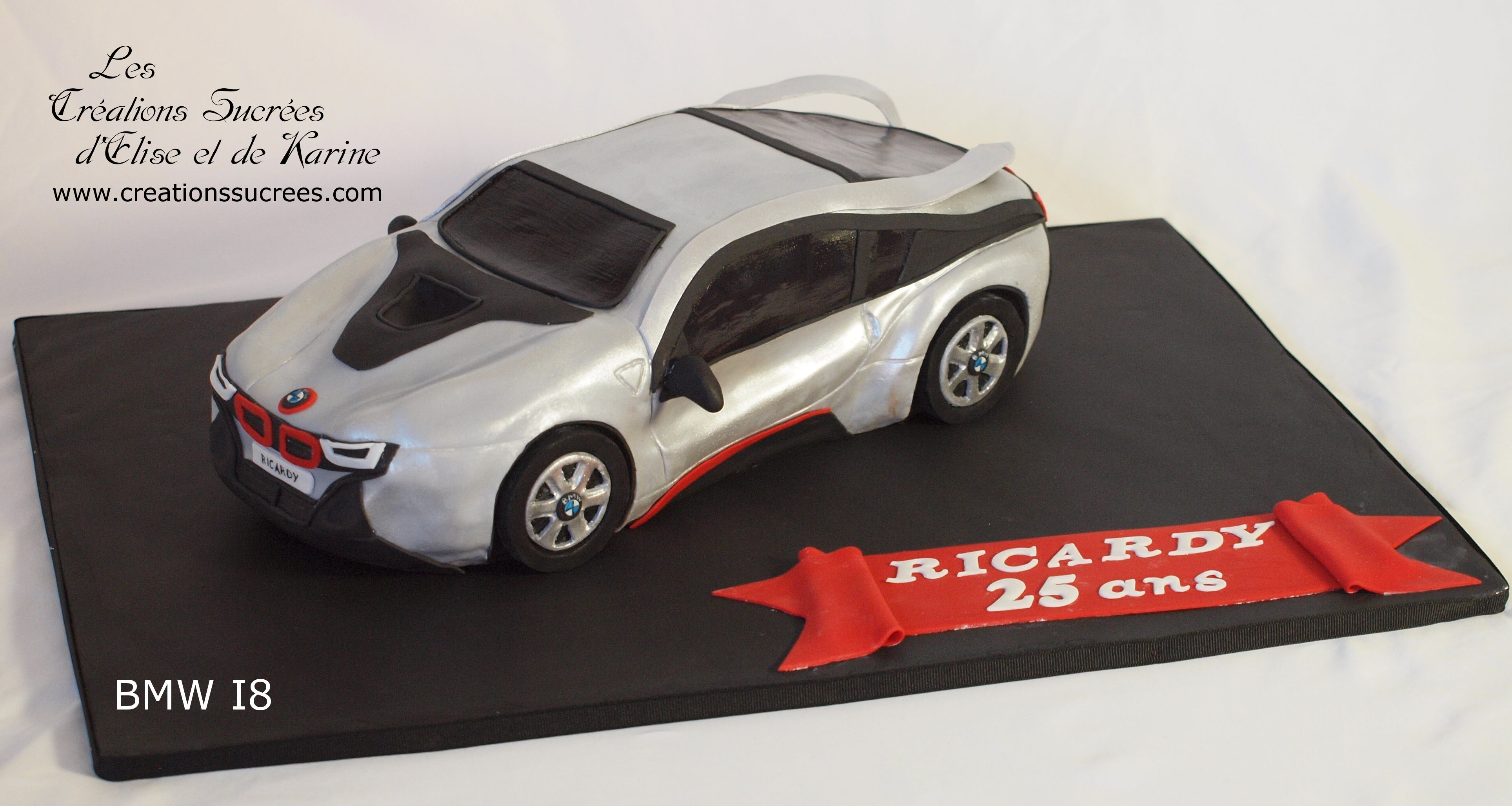 Bmw I8 Cake Www Creationssucrees Com Tylers Bday Pinterest