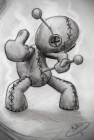 voodoo doll tattoo - Google Search