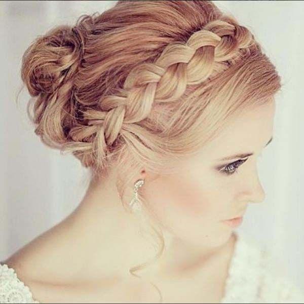 Rápido y fácil peinados boda media melena Fotos de cortes de pelo Consejos - 35 ideas de peinados boda media melena | Peinados con ...