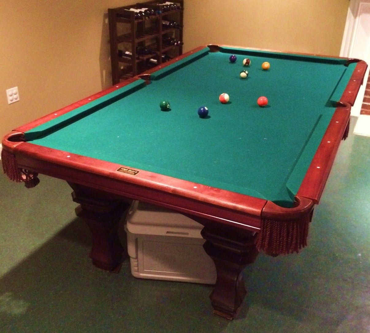 A26 Peter Vitalie Billiards Pool Table, SOLD