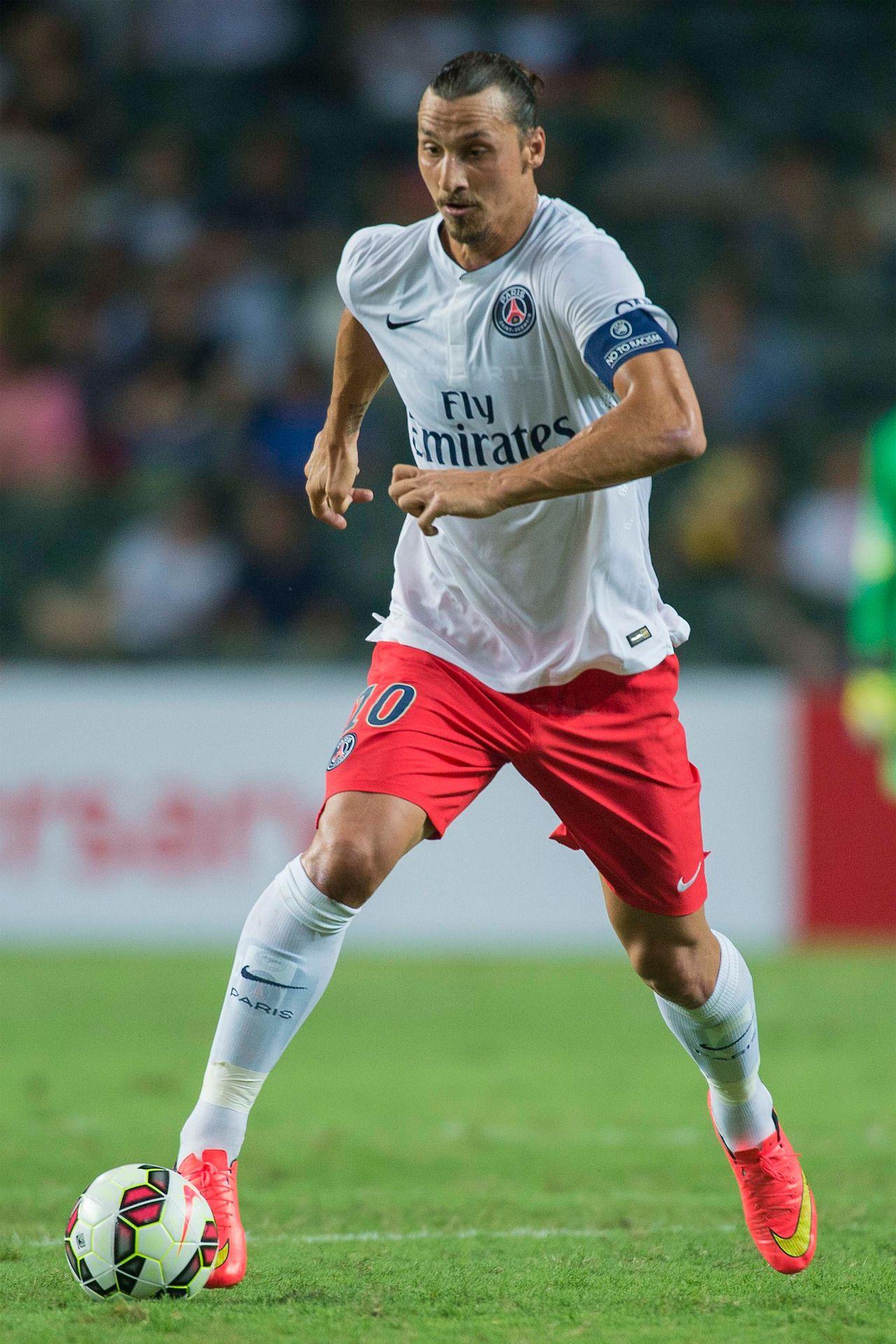 Zlatan Ibrahimovic Psg Futebol Masculino Fotografia De Futebol Futebol
