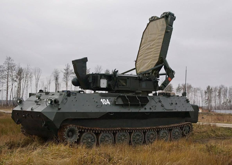 Russian radar reconnaissance and fire control complex