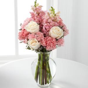 Love In Bloom Bouquet Flower Arrangements Cream Roses Bouquet