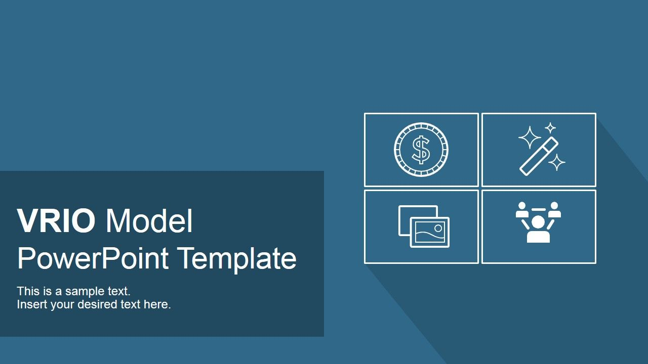 Vrio Model Powerpoint Template  Template Business Powerpoint