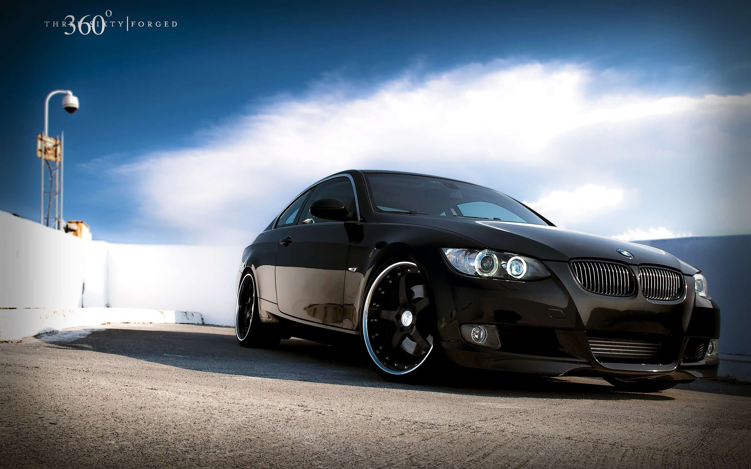 Black Bmw 335i 360 Forged Hd Widescreen Wallpaper Projects To Try