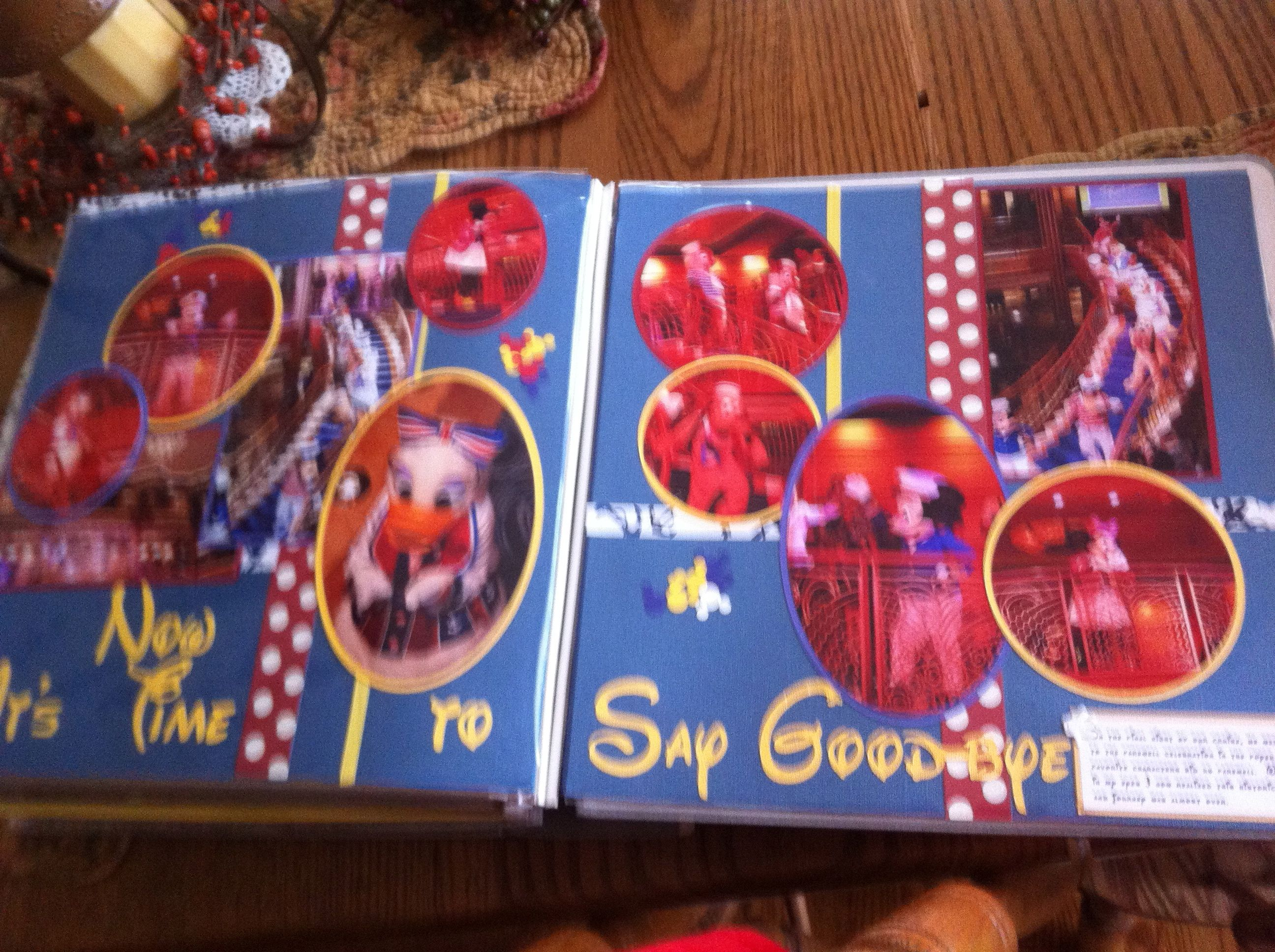 Scrapbook ideas goodbye - Now Its Time To Say Goodbye