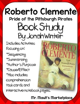 Roberto clemente book studyorganizers and interactive notebook roberto clemente the pride of the pittsburgh pirates is a great story about robertos life the story of roberto and his struggles growing up fandeluxe Gallery