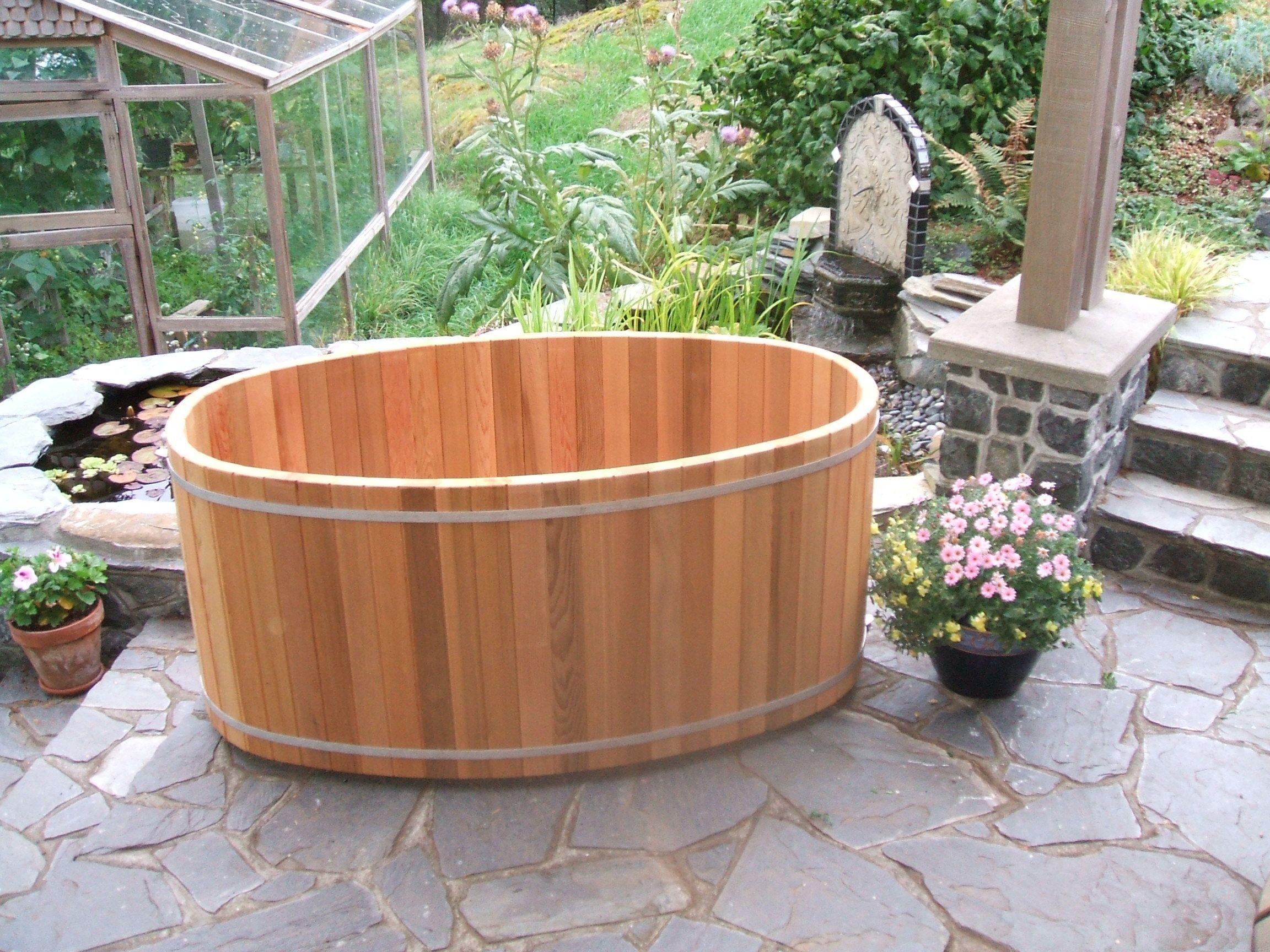 2 Person Oval Soaking Tub