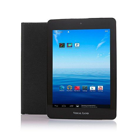 """Visual Land Prestige Elite 8"""" Quad-Core 8GB Android Tablet with Cameras, Protec 