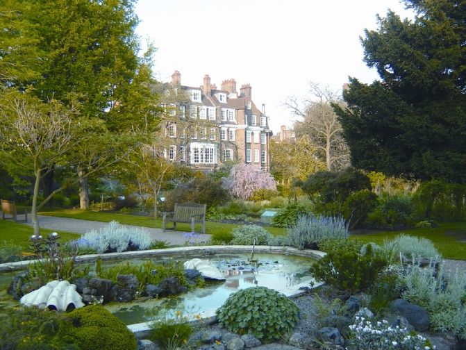 Chelsea Physic Garden, London – second oldest botanic garden in England, founded in 1673 by the Society of Apothecaries