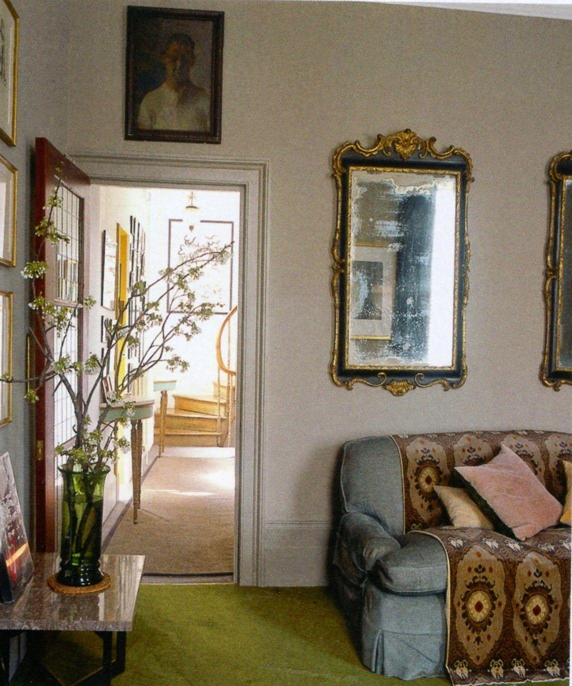 Bella Home Interiors: Karen Barlow: Bella Freud's London Home Designed With