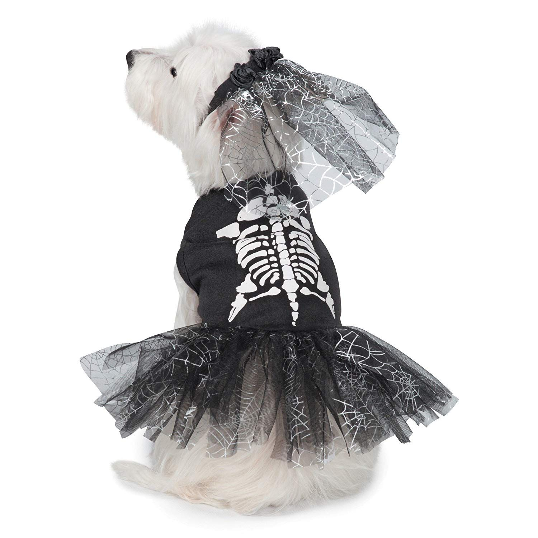 Casual Canine GlowintheDark Skeleton Zombie Dog Costume