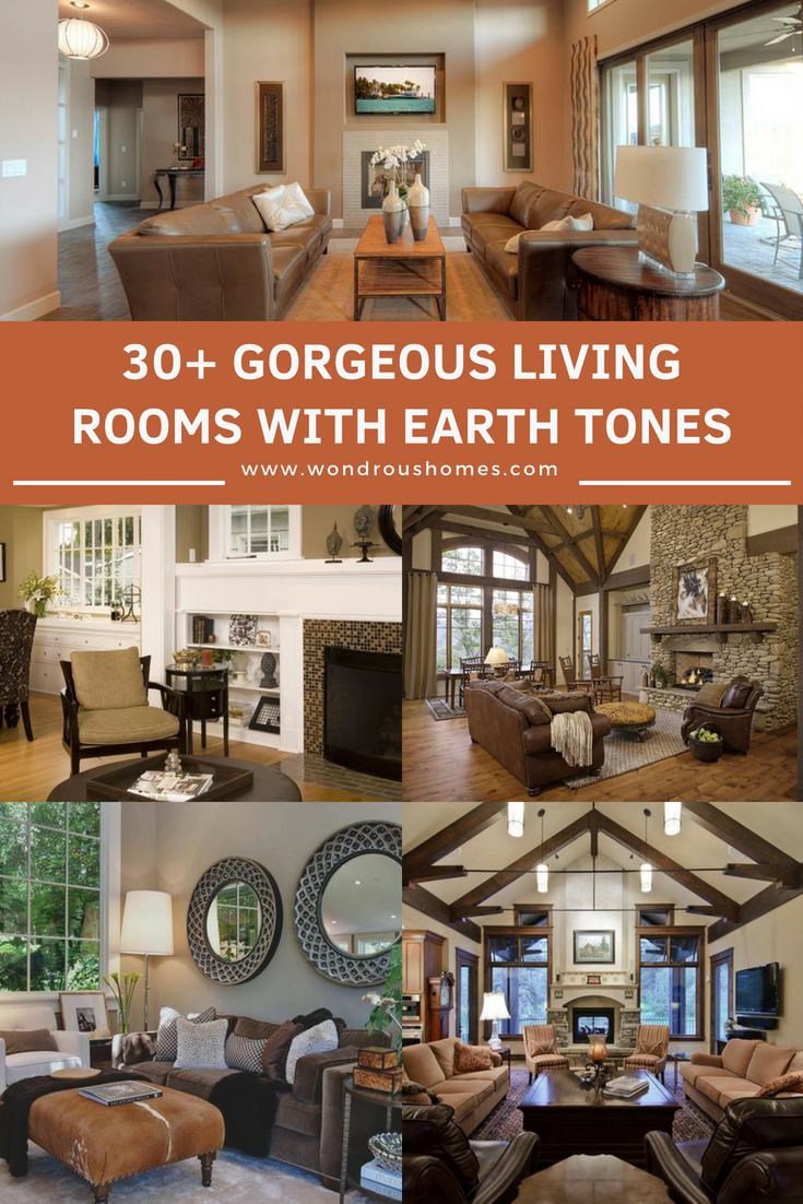 30 Living Rooms With Earth Tones Earth Tone Living Room Li