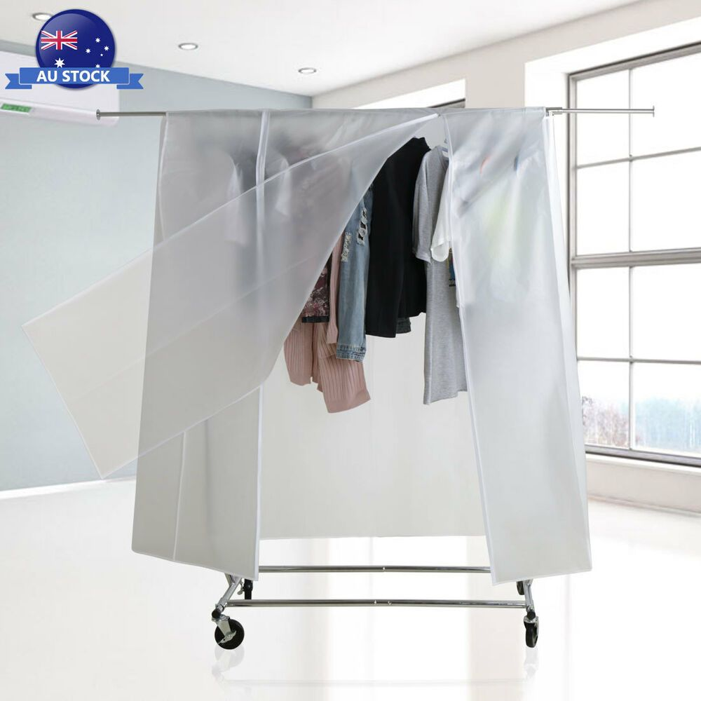 Turns Your Clothes Rail Into The Wardrobe Large Useful Side Id