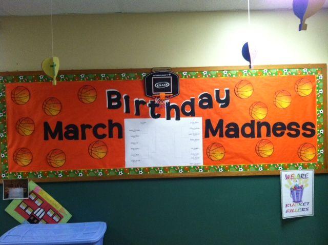 March Birthday Bulletin Board Boards Classroom