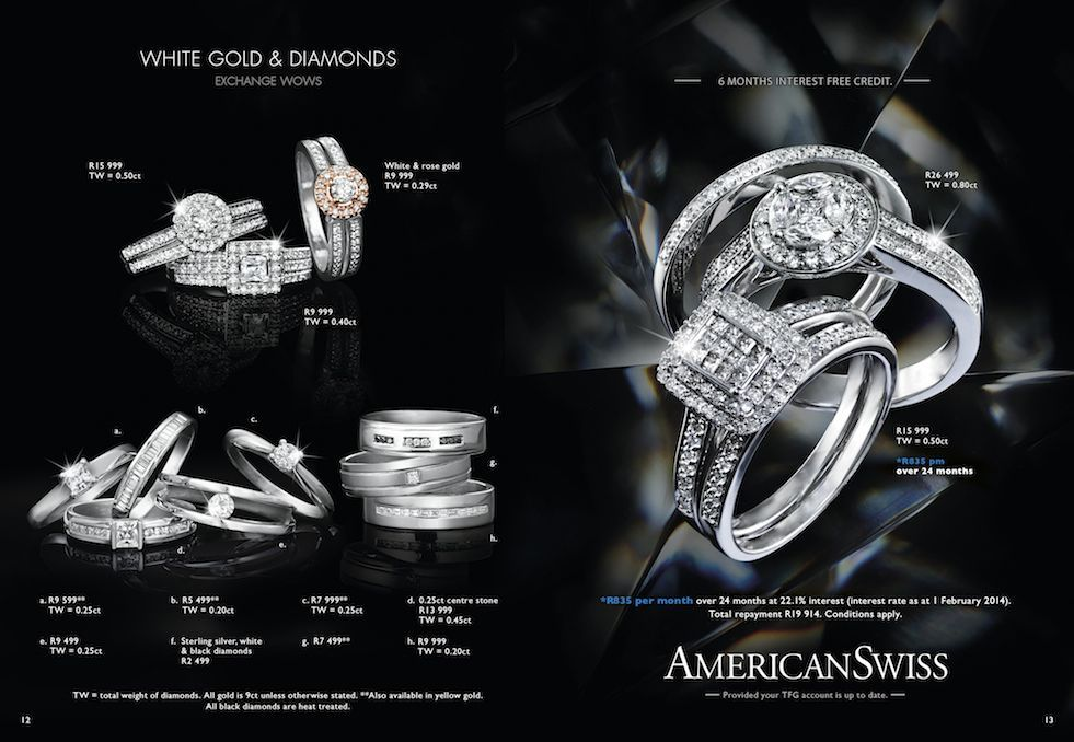 Winter Diamonds Catalogues American Swiss Things For Her