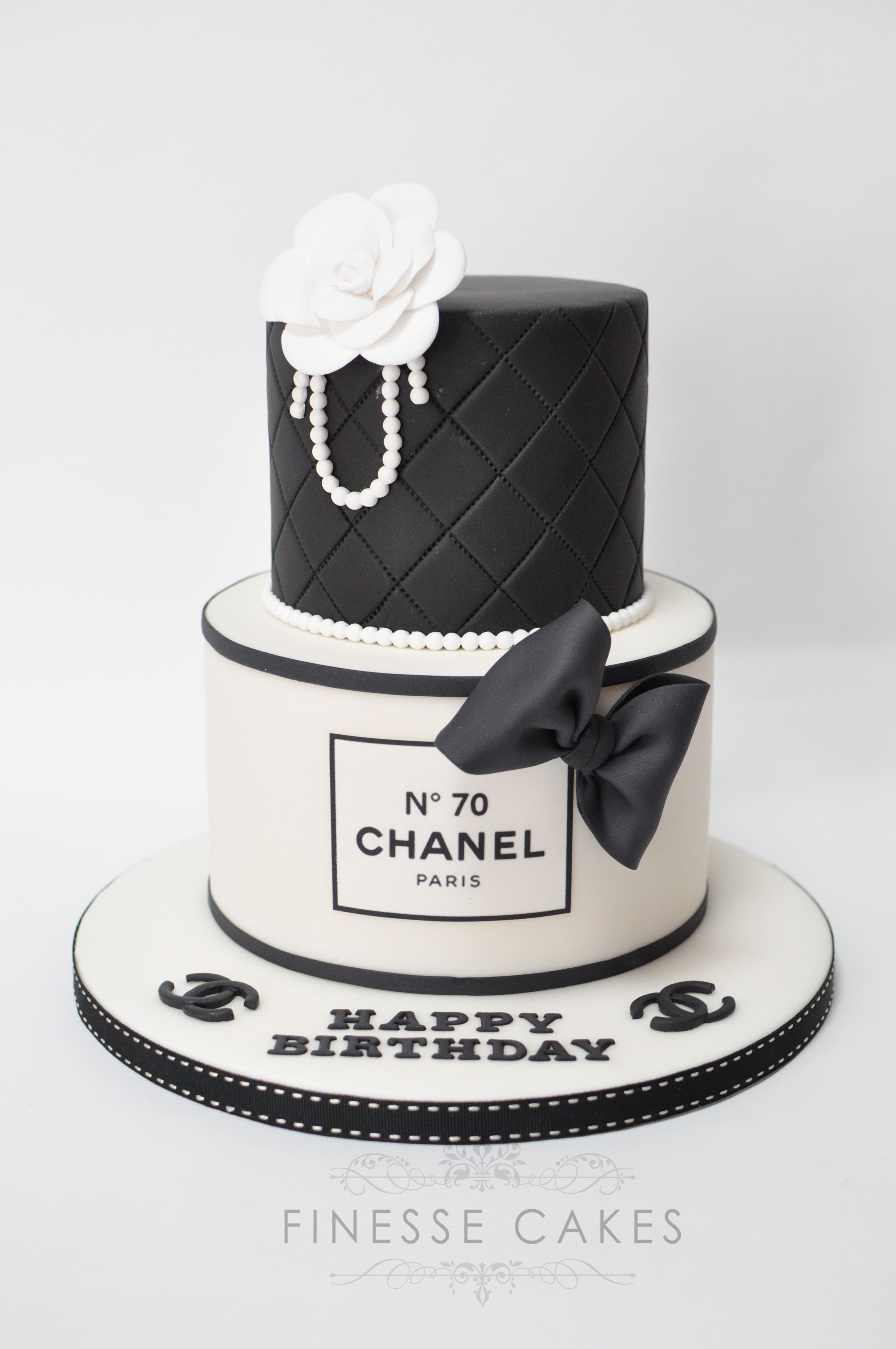 Chanel Girly Cakes Amp Party Chanel Birthday Cake Cake