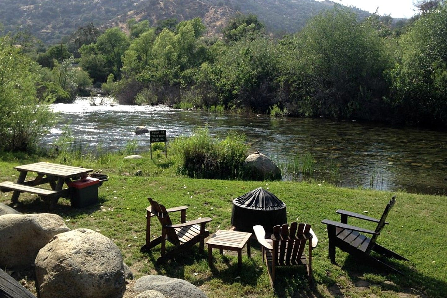 california foothills near in national pin sierra cabin nevada riverfront sequoia park cabins