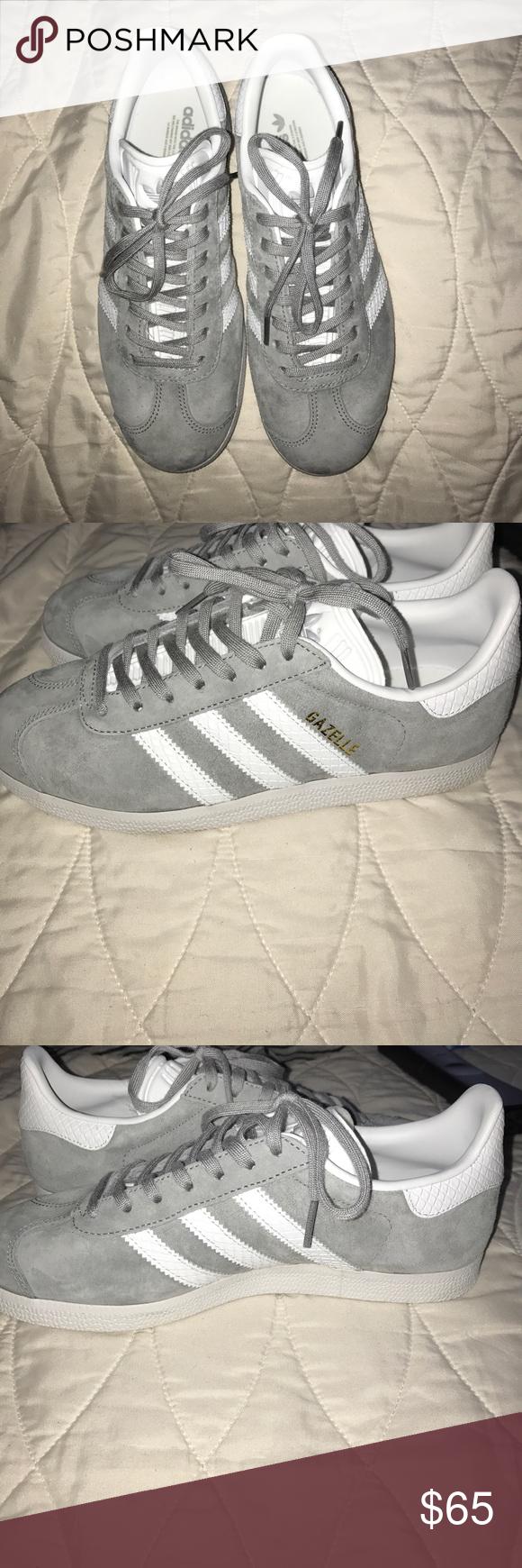 adidas gazelle grey 7.5