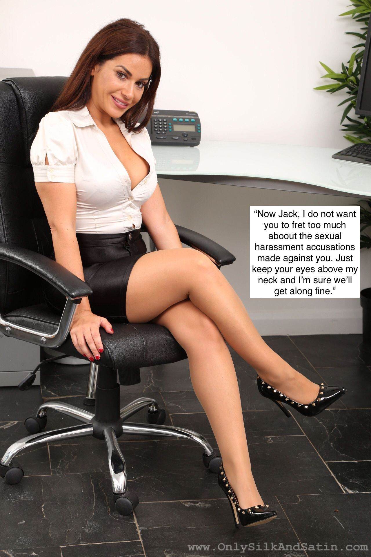 Femdom in the workplace