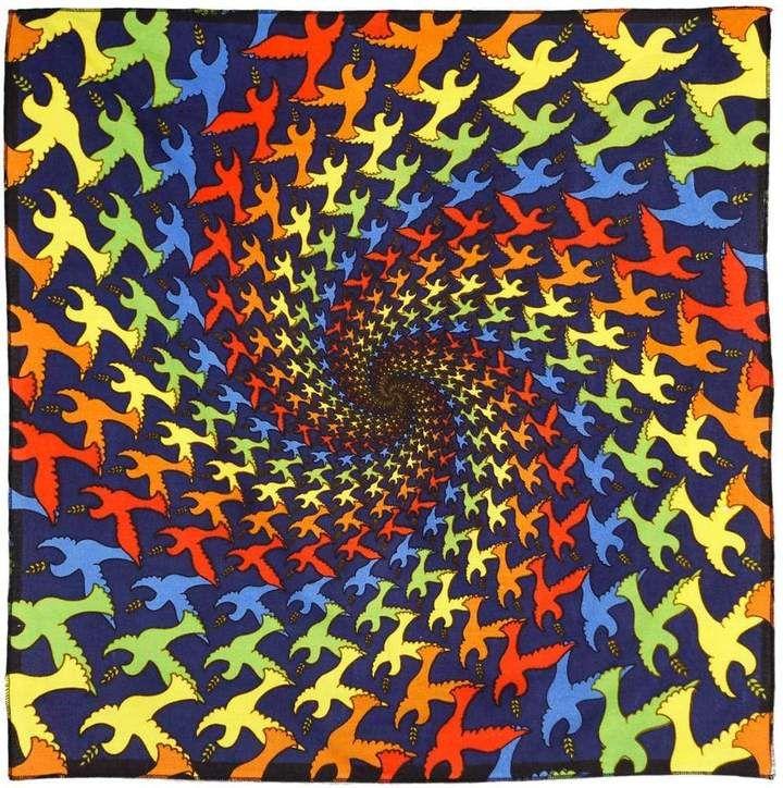 3D Grateful Dead Tapestry Dancing Bear Vibrations Mandala