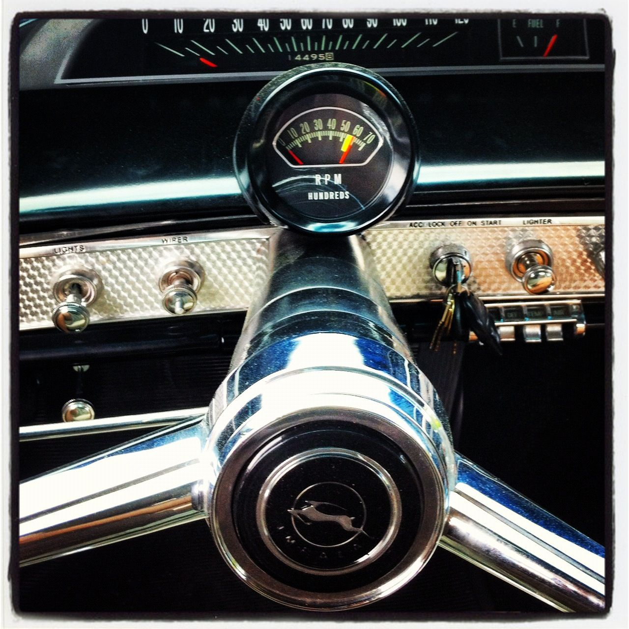 That Tach Was The Hardest Thing To Find For My 1964 Impala