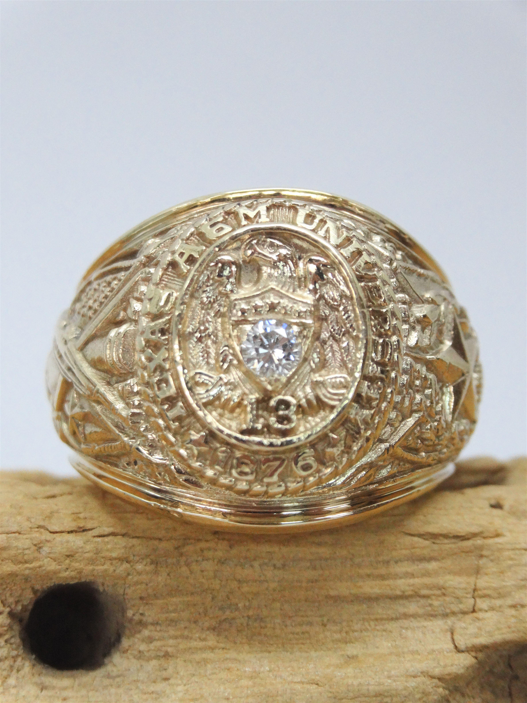 Re Antique Aggie Ring